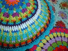 Fair Isle Mandala Pattern first part can be found here