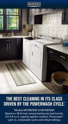 Maytag means business.