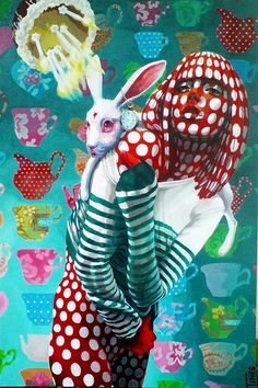 Saatchi Online Artist: Sonja Tines; Oil, Painting one of the probabilities