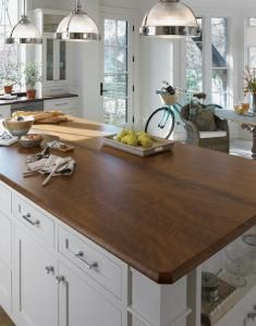 this is the john boos walnut butcher block that is my