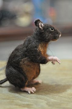 needle felted rat image - Google Search