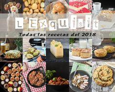 Recetario 2018 Tapas, Omelettes, Empanadas, Hummus, Buffet, Mango, Brunch, Appetizers, Pizza