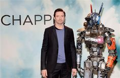 "Movie Reviews: ""Chappie"" stars Hugh Jackman and a police android"