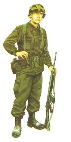 Soldado de la infanteria de marina