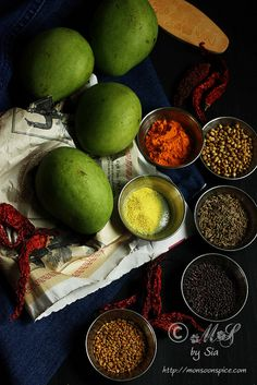 No Oil Spicy Cut Mango Pickle Recipe | Step by Step Indian Mango Pickle Recipe