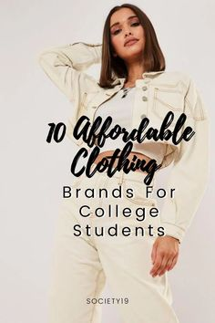 10 Affordable Clothing Brands For College Students - Society19 Going Out Outfits, New Outfits, Stylish Outfits, Affordable Dresses, Trendy Dresses, Name Brand Jeans, Girly Things, Girly Stuff