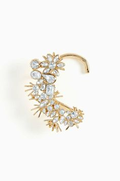 Snowflake Ear Cuff so cute for a holiday party