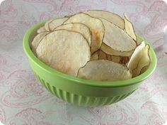 Home made potato chips- Pampered Chef