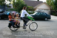 Family Cargo Bike - Xtracycle