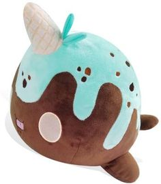 Tasty Peach Studios — Nomwhal Mint Chip Plush Preorder