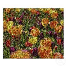 Digital Expressionism: Field of Tulips