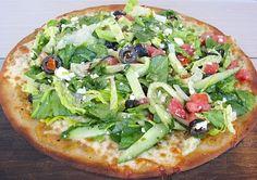 Meatless Mondays: The Oaks Gourmet Market's Recipe for Greek Salad Pizza