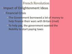 French Revolution, The Borrowers, Britain, Finance, Economics