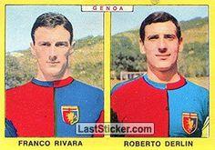 FRANCO RIVARA - ROBERTO DERLIN 1966-67 GENOA Panini Calciatori 1966-1967 - Collection preview - laststicker.com