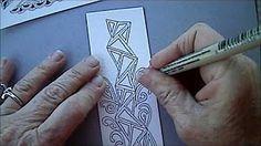 Binda Tangle Pattern Lesson #84 - YouTube