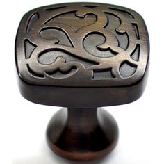 allen   roth�1.25-in Aged Bronze Round Cabinet Knob