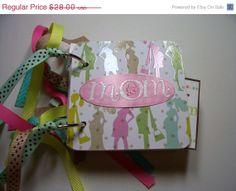 Pregnant  Mini Scrapbook Album Pregnacy Mini by HampshireRose, $21.00