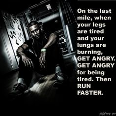 This is so me!  I always push harder at the end because I'm angry that the pain is trying to win.  Lol!