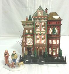 Dept 56 Christmas in the City Series  East Village Row Houses 56.59266