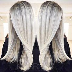 Eisigen Platin Haar Farbe Ideen - Neue Besten Frisur