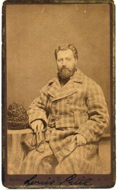 Love your coat Louis Riel, 1878