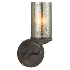 View the Sea Gull Lighting 4110401BLE Sfera 1 Light Energy Star Bathroom Sconce with Mercury Glass Shade at Build.com.