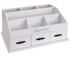 Original Gift Company Dressing Table Organiser, Wood Jewellery, make-up brushes, hair accessories…all her treasures will find a home in this lovely organiser. Perfect in the bedroom or bathroom. (Barcode EAN=5053335456535) http://www.MightGet.com/february-2017-2/original-gift-company-dressing-table-organiser-wood.asp