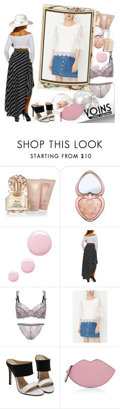 """""""Yoins-04 (194)"""" by irinavsl ❤ liked on Polyvore featuring Vince Camuto, Too Faced Cosmetics, Topshop, Kendall + Kylie, yoins, yoinscollection and loveyoins"""