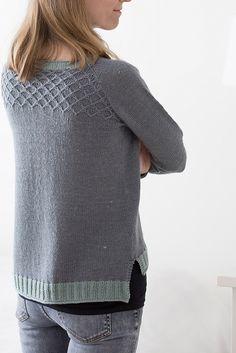 Ravelry: Frozen Silver Sweater pattern by Suvi Simola