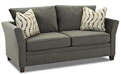 Amazon.com: Murano Full Sleeper Sofa in Belsire Pewter: Kitchen & Dining