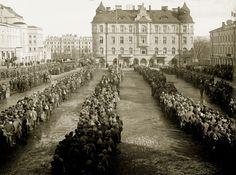 1918, civil war. Central square of Tampere