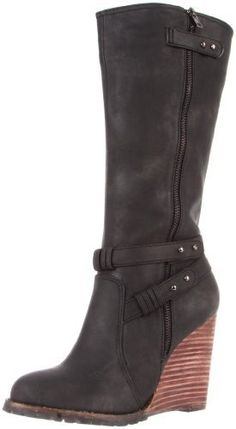 Size 9 CA Collection by Carrini Fleece Fold Over Mid Boot New Color Varies