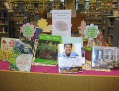 Spring is Just around the corner book display