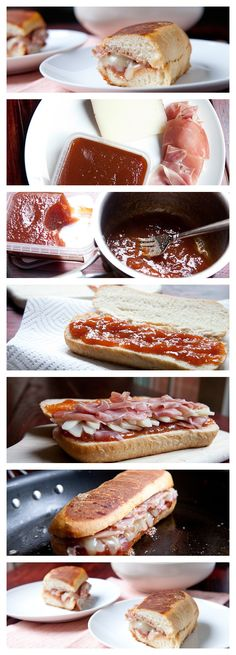 Spanish Grilled Cheese