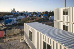 Les containers ont ouvert lundi à Calais.