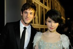 Gaspard Ulliel and Vivian Hsu at the Chanel Exhibition Opening in Taipei
