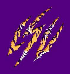 Cat Scratch Fever - - LSU TIGERS - LSU TIGERS colors purple & gold - Louisiana State University