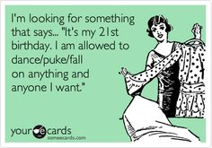 21st Birthday Quotes Funnies Princess