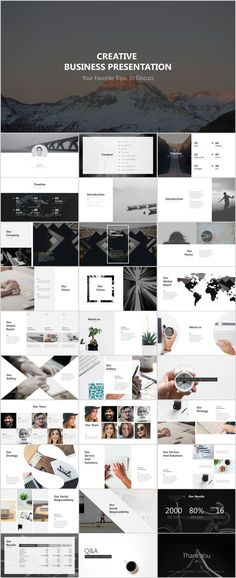 the 37 best clean creative business report ppt images on pinterest