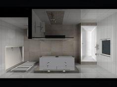 Badkamer   Badkamer idee voor kleine badkamer Door joedavaro