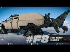 Fast & Furious #F8: siêu xe tốc độ và những khoảng trời trong xanh. #ICE...