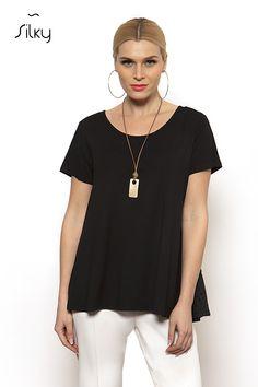 ΜΠΛΟΥΖΑ - silkycollection.gr V Neck, Tops, Women, Fashion, Moda, Fashion Styles, Fashion Illustrations, Fashion Models