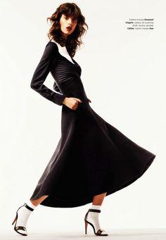 Antonina Petković by Angelo D'Agostino for Harper's Bazaar Serbia August 2015 [Fashion]