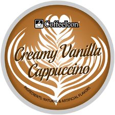 CoffeeIcon Creamy Vanilla Cappuccino is the most effective and best selection when it pertains to excellent quality cappuccino's. We have of single serve coffees for your single serve brewer. Cappuccinos, Single Serve Coffee, French Vanilla, Great Coffee, Barista, Milk, Inspired, Baristas