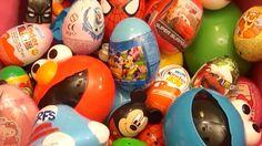 Surprise Eggs Opening Kinder in Englsh 2015 HD | Elmo Disney Pixar Cars ...