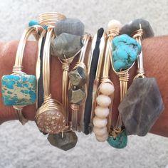 <3 this bracelet stack
