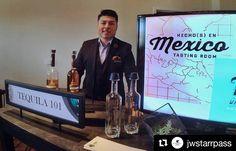 #Repost @jwstarrpass with @repostapp  #Tequila Master Carlos Ruiz with Embajador in his Tequila 101 class     #Tucson23 #SAACA #TequilaClass #TequilaDemo #Tequila101 #TequilaMaster #Salud #JWStarrpass #ResortLife #FoodEvent #BeverageClass #Mexico