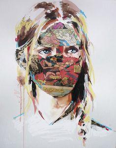 Modern Day Pop Art Beauty   Sandra Chevrier inspiration