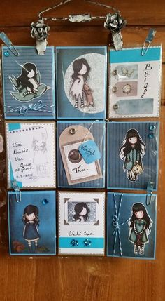 Pocket Letter Page by Annie de Groot