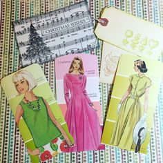 """61 Likes, 3 Comments - Patricia Martin (@mysticartbypatti) on Instagram: """"Thank to @kmoulton32 for these fun tags and holiday card!! #maillove #mailart #paperlove…"""""""